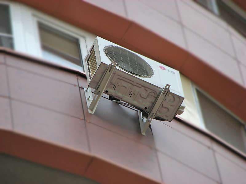 Установка кондиционера в доме с утеплением установка кондиционера на балкон